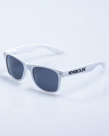 OKULARY CLASSIC WHITE FLASH BLACK 630