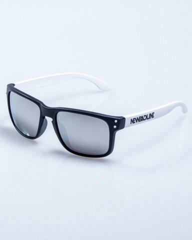 OKULARY FREESTYLE POINT BLACK-WHITE MAT GREY MIRROR 636