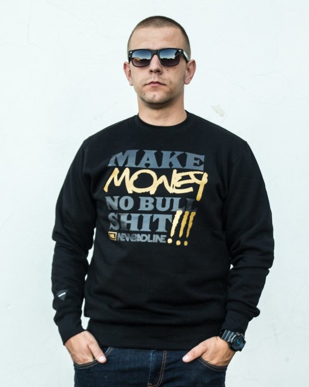 BLUZA CREWNECK MONEY BLACK