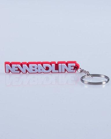 NEW BAD LINE BRELOK CLASSIC 3D RED-WHITE