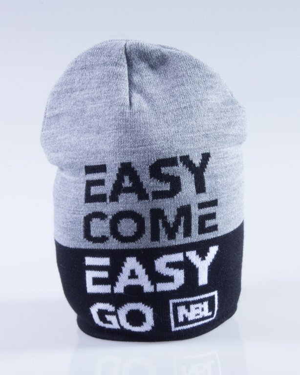 NEW BAD LINE CZAPKA ZIMOWA EASY BLACK-GREY