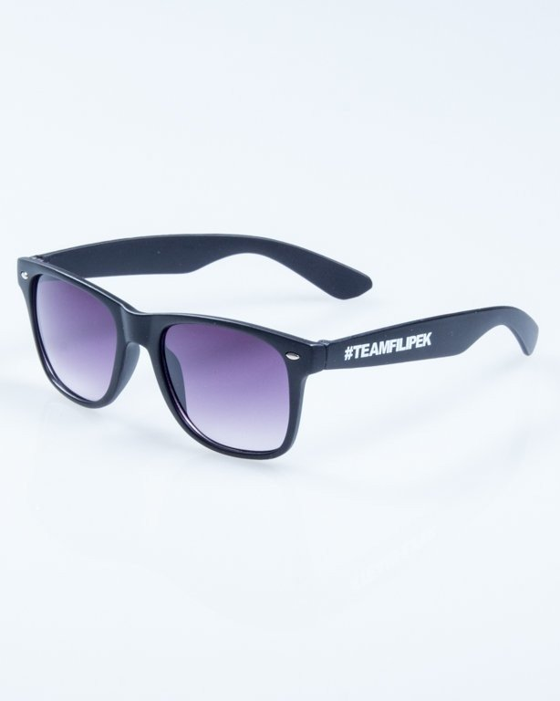 OKULARY CLASSIC BLACK MAT - FILIPEK - #TEAMFILIPEK 830