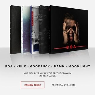 ReTo: BOA + K R U K + GOOD7UCK + DAMN. + MOONLIGHT (5 CD)
