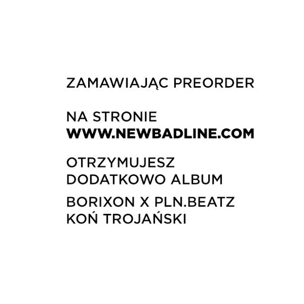 """(PREORDER) """"BORIXON - KOKTAJL"""" + """"BORIXON X PLN.BEATZ - KOŃ TROJAŃSKI"""" (BONUS PACK)"""