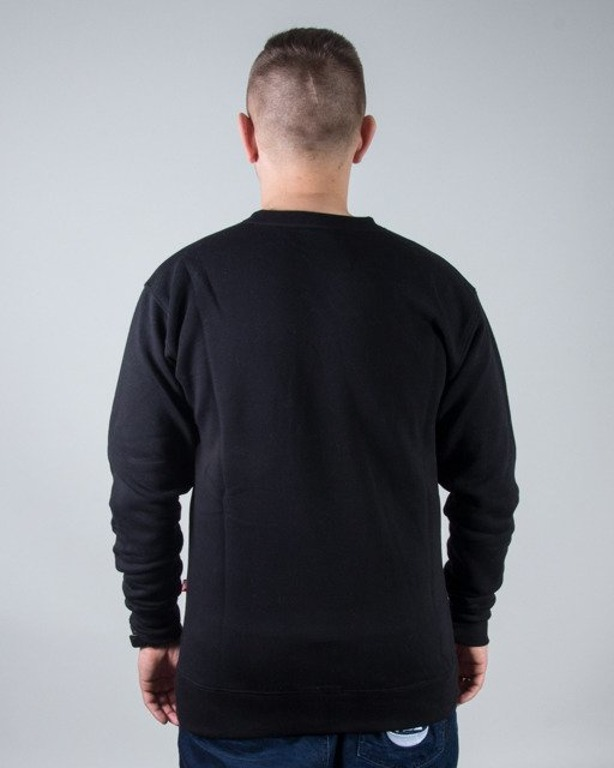 BLUZA CREWNECK BOX BLACK