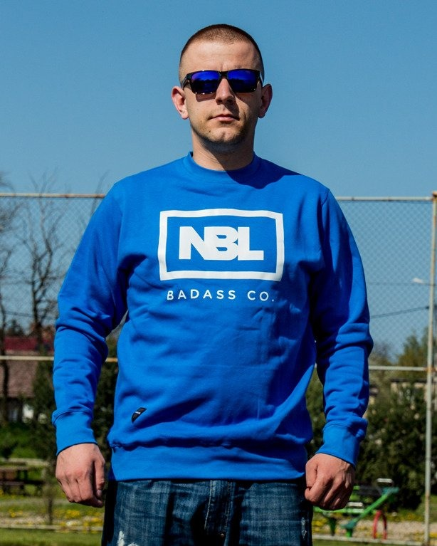 BLUZA CREWNECK ICON BLUE