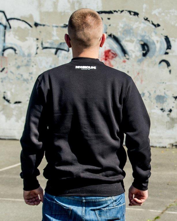 BLUZA CREWNECK SWAG BLACK