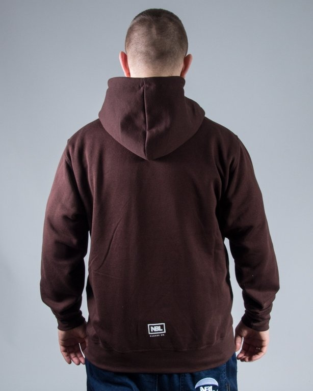 BLUZA HOODIE CLASSIC BROWN