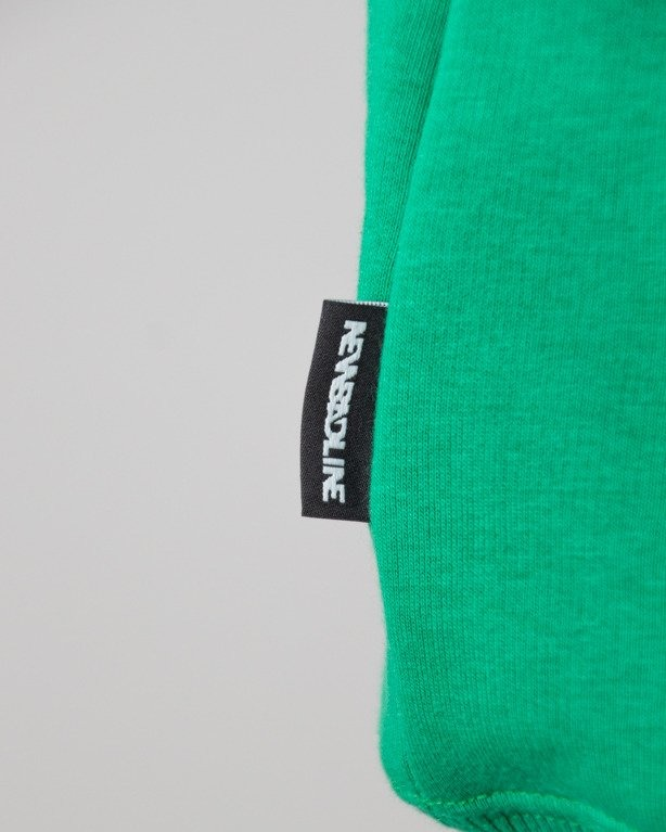 BLUZA Z KAPTUREM ICON GREEN