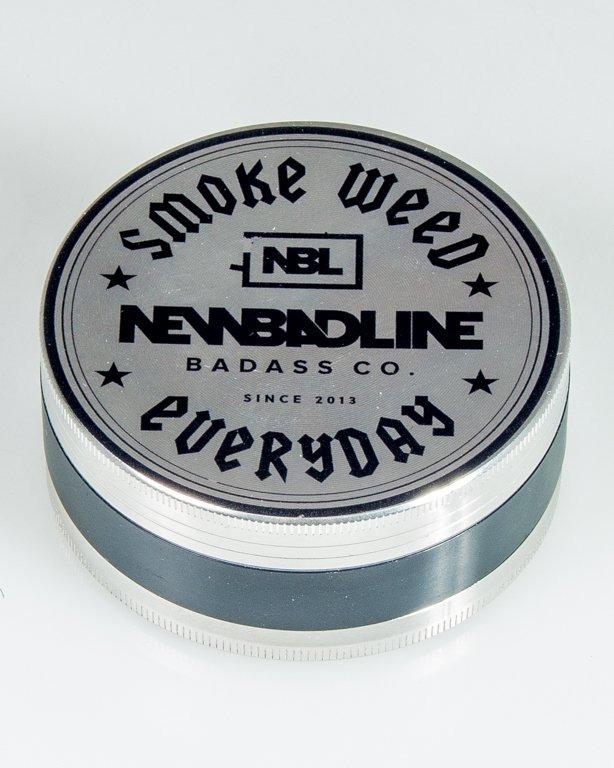 MŁYNEK METALOWY SMOKE BIG SILVER-BLACK