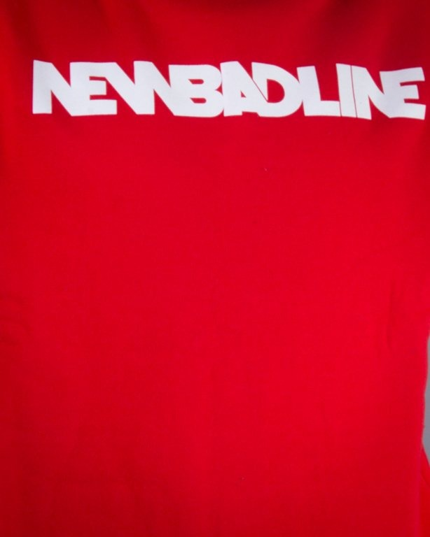 NEW BAD LINE BLUZA BEZ KAPTURA CLASSIC RED