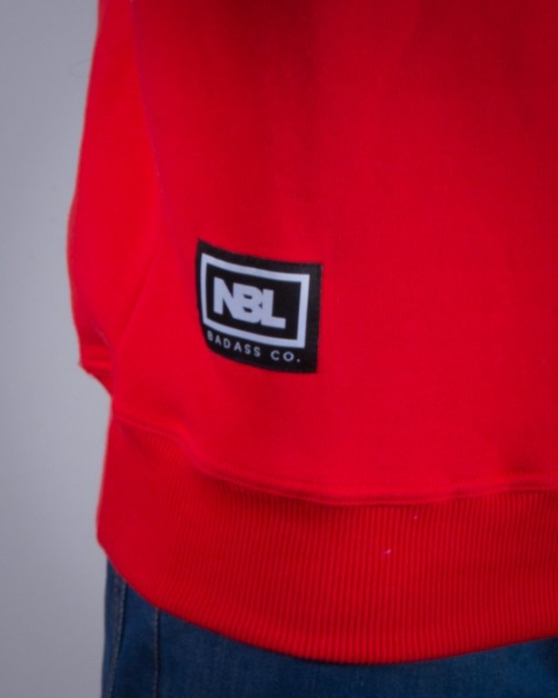 NEW BAD LINE BLUZA BEZ KAPTURA CLASSIC RED