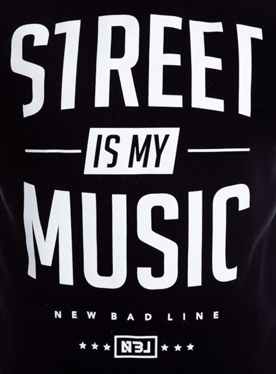NEW BAD LINE BLUZA STREET BLACK