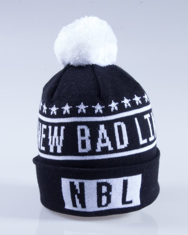 NEW BAD LINE CZAPKA ZIMOWA SWAG BLACK