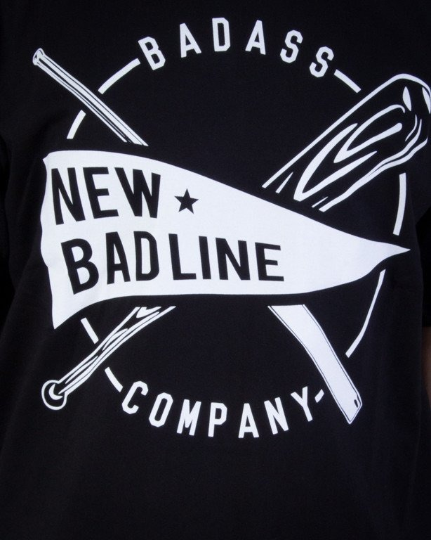 NEW BAD LINE KOSZULKA BASEBALL BLACK