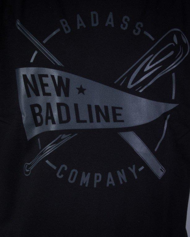 NEW BAD LINE KOSZULKA BASEBALL BLACK ON BLACK