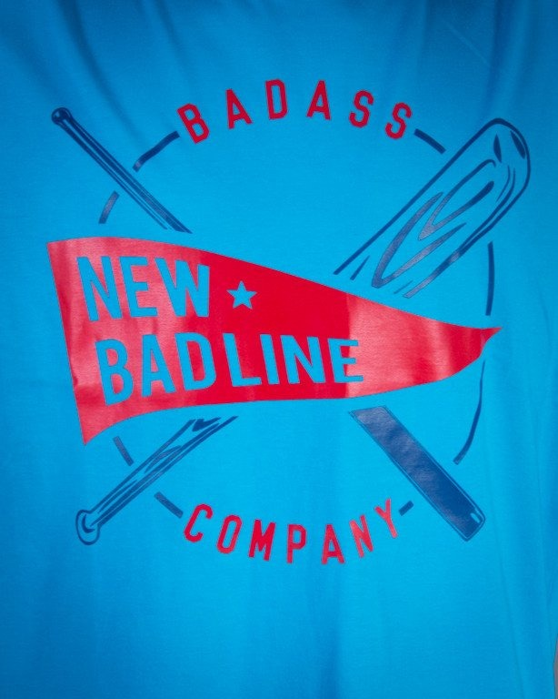 NEW BAD LINE KOSZULKA BASEBALL BLUE