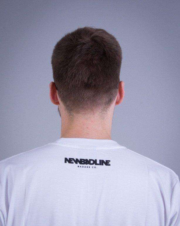 NEW BAD LINE KOSZULKA BASEBALL WHITE