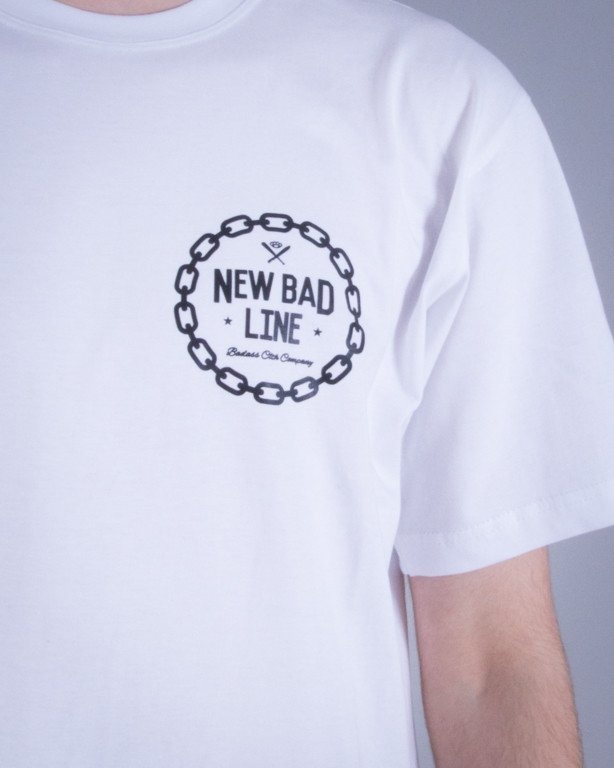 NEW BAD LINE KOSZULKA BRX DON'T WHITE