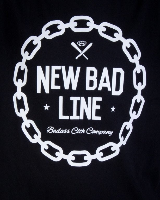 NEW BAD LINE KOSZULKA CHAIN BLACK