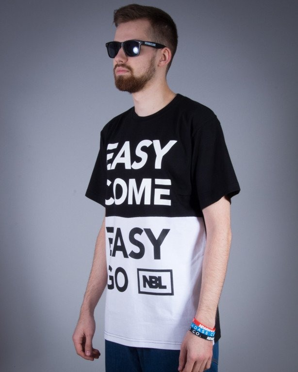 NEW BAD LINE KOSZULKA EASY BLACK-WHITE