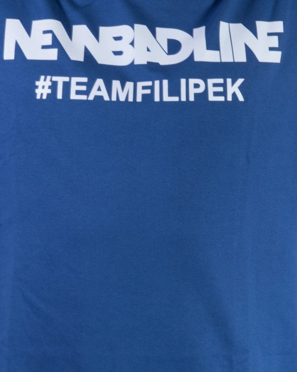 NEW BAD LINE KOSZULKA #TEAMFILIPEK NAVY