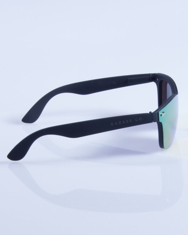 NEW BAD LINE OKULARY CLASSIC ALL GLASS RUBBER MIRROR 343