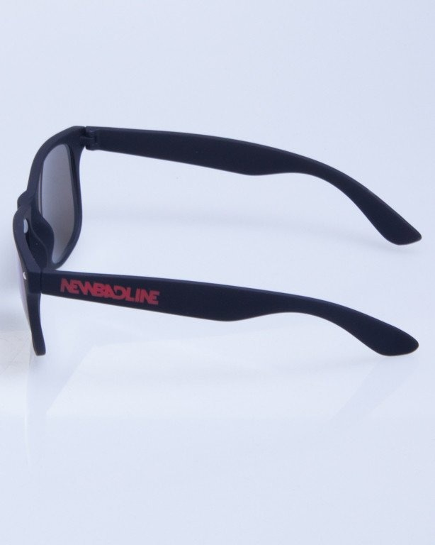 NEW BAD LINE OKULARY CLASSIC MIRROR RUBBER 298