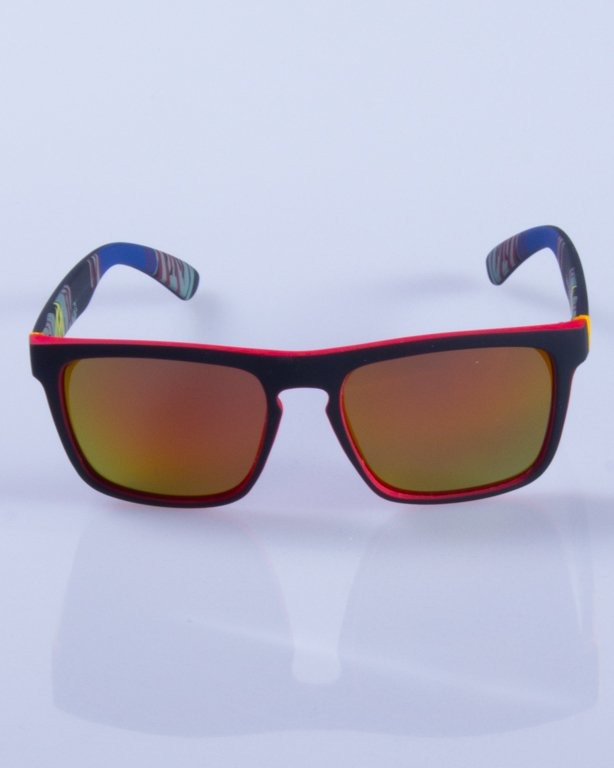 NEW BAD LINE OKULARY COMIX POLARIZED MIRROR RUBBER 427