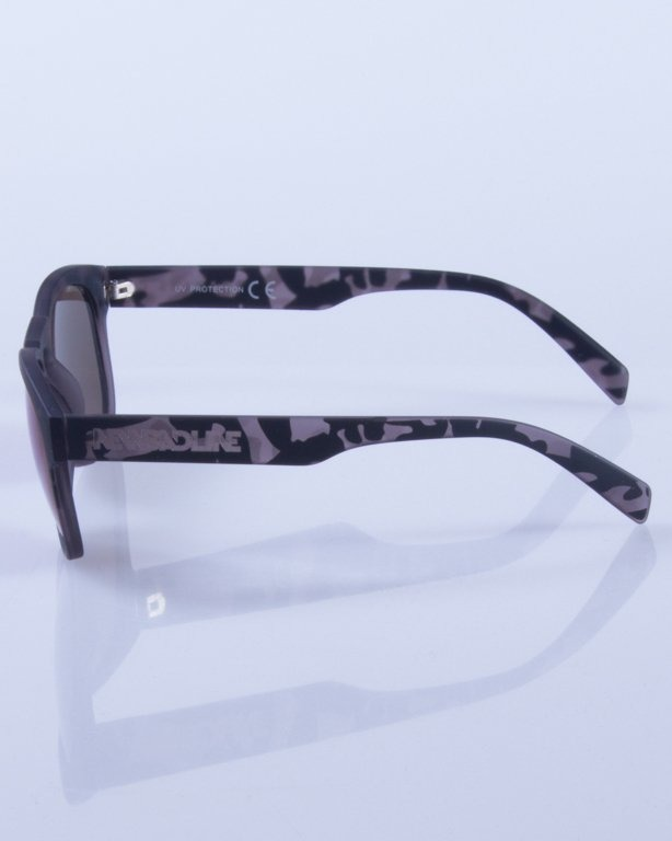 NEW BAD LINE OKULARY OVAL MIRROR RUBBER 366