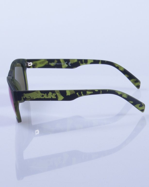 NEW BAD LINE OKULARY OVAL MIRROR RUBBER 367
