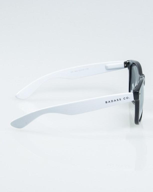 OKUALRY CLASSIC HALF BLACK-WHITE FLASH SILVER MIRROR 1167