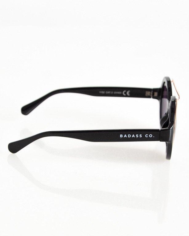 OKULARY AROUND GOLD-BLACK FLASH BLACK 071