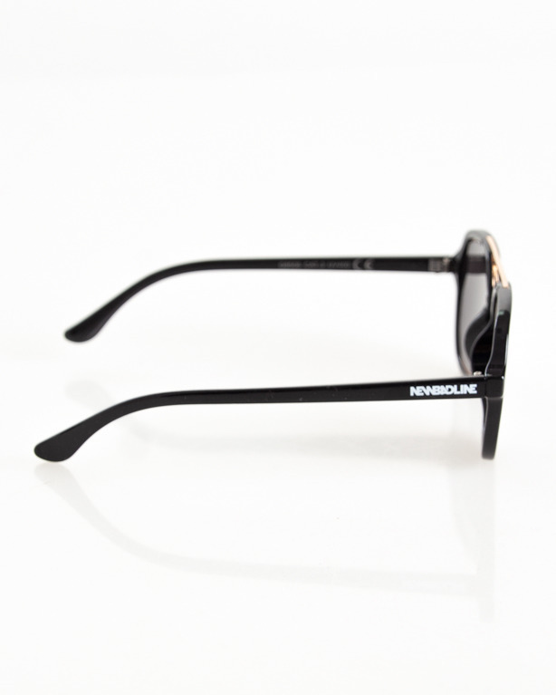 OKULARY CLASS BLACK-GOLD FLASH BLACK 096