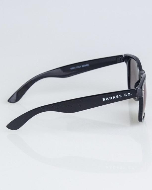 OKULARY CLASSIC BLACK FLASH NAVY MIRROR 1323