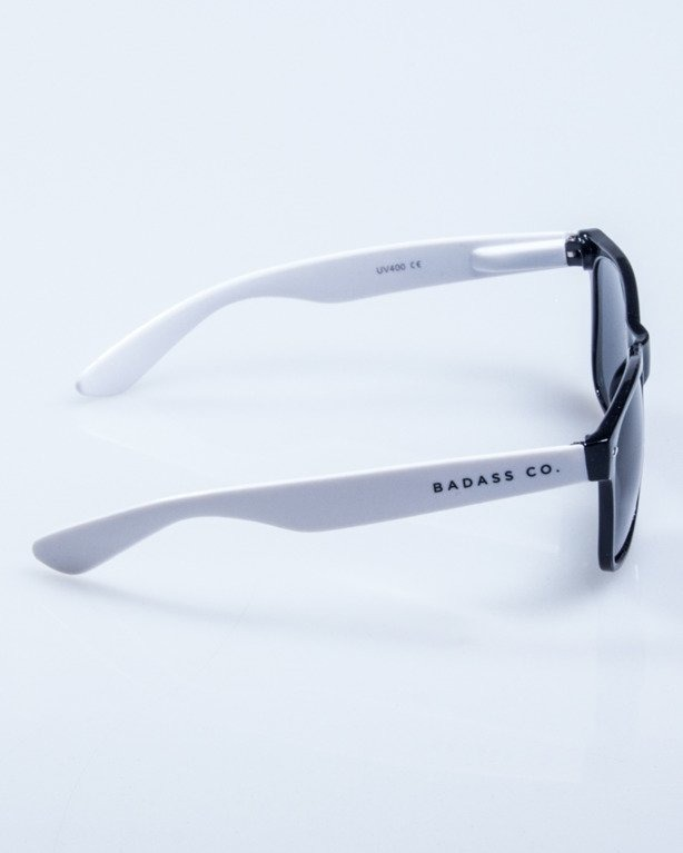 OKULARY CLASSIC BLACK-WHITE FLASH BLACK 631