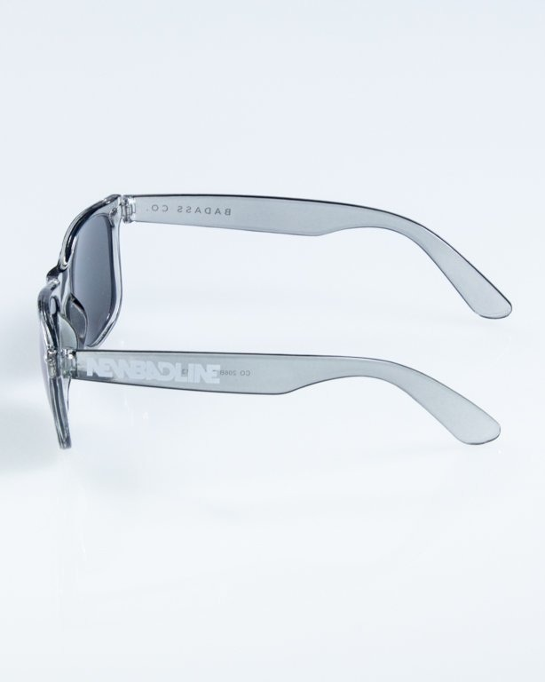 OKULARY CLASSIC CLEAR GREY BLUE MIRROR 858