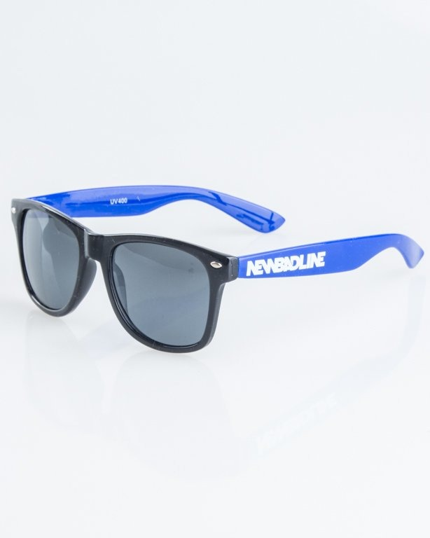 OKULARY CLASSIC HALF BLACK-BLUE FLASH BLACK 1248