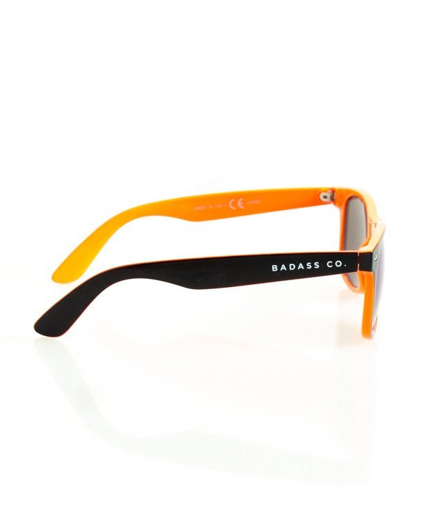 OKULARY CLASSIC INSIDE BLACK-ORANGE FLASH GREEN MIRROR 137