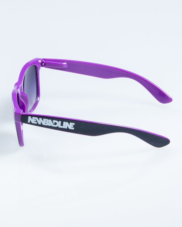 OKULARY CLASSIC INSIDE BLACK-VIOLET FLASH BLACK HALF 850