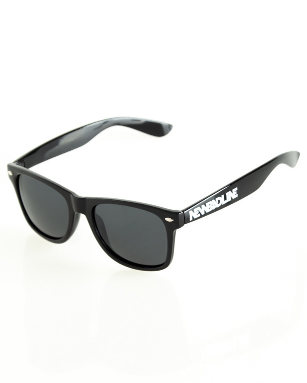 OKULARY CLASSIC POLARIZED BLACK FLASH BLACK 115