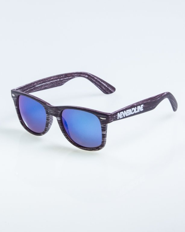OKULARY CLASSIC WOODY ARK 1 BLUE MIRROR 892