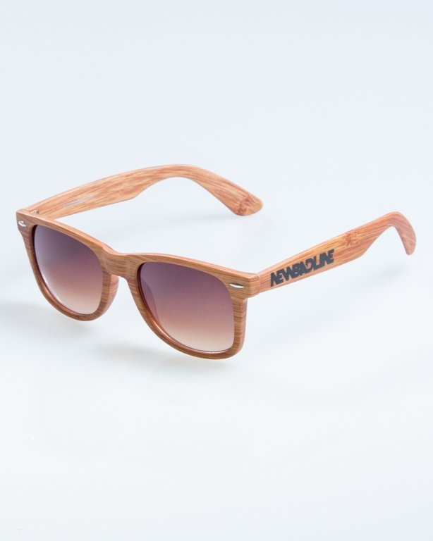 OKULARY CLASSIC WOODY  LIGHT BROWN 871
