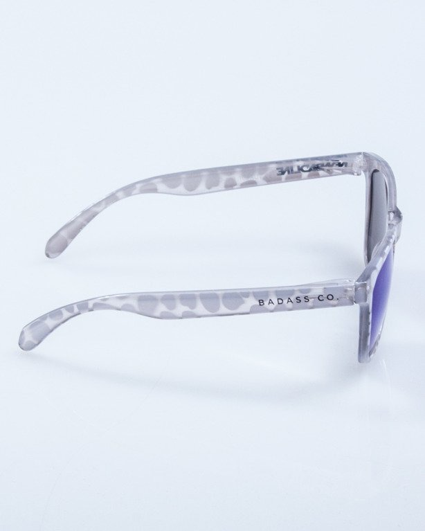 OKULARY CRYSTAL CLEAR POINTS BLUE MIRROR 639
