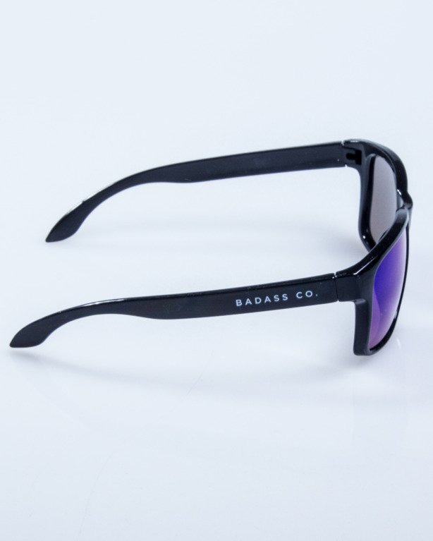 OKULARY FREESTYLE BLACK FLACH GREEN MIRROR 595