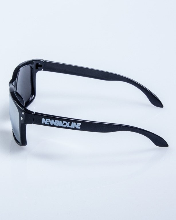 OKULARY FREESTYLE POINT BLACK FLASH GREY MIRROR 609