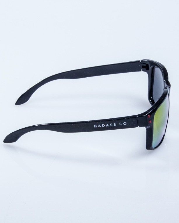 OKULARY FREESTYLE POINT BLACK FLASH RED MIRROR 610