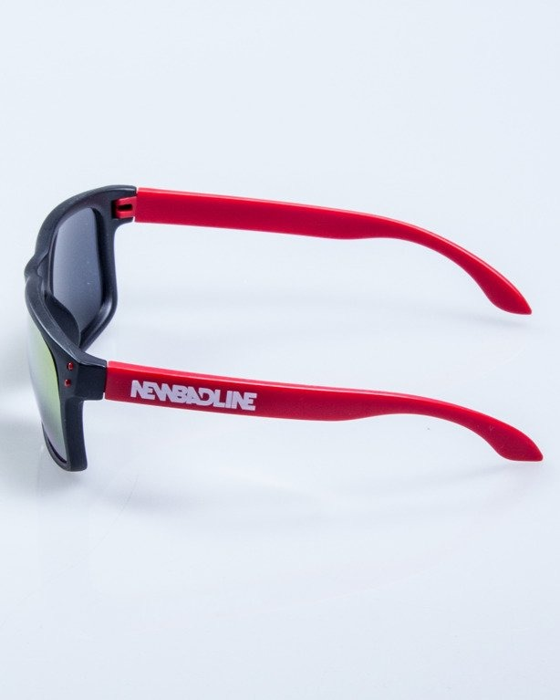 OKULARY FREESTYLE POINT BLACK-RED MAT RED MIRROR 587