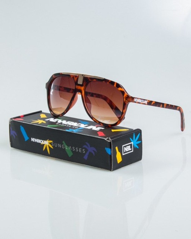 OKULARY HARD PANTERA-GOLD METAL MAT BROWN 1145