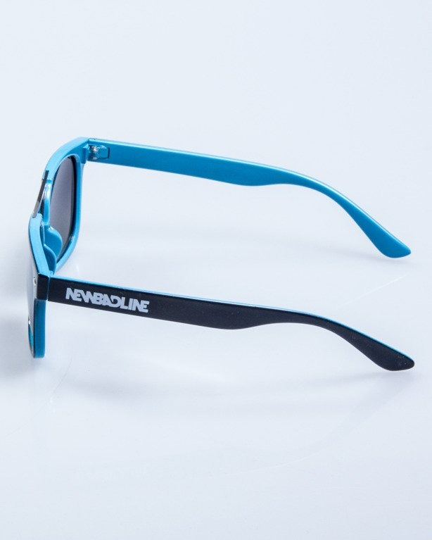 OKULARY HEAT BLACK-BLUE FLASH BLACK POLARIZED 612
